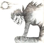 Ryuk, the Bored Shinigami by ThePowerofThree95