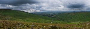 View from Hookney Tor by adamlack