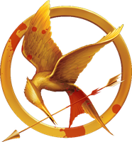 Bloody Mockingjay Pin by legerema