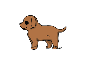 Macy the daushund by Hollygoesmeow