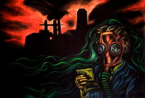 """""""Industrial Cancer"""" by JoeGalarza"""