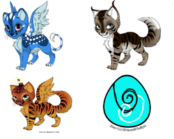 Adoptables -open- by Jib-Jab