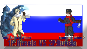 Fight: Russia vs Russia by Sagealina