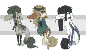 Sugar Babies ~ 30 (closed) by LunarAdopts