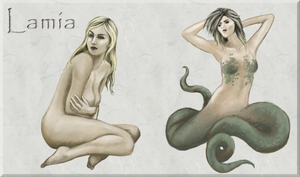 Squiby - Lamia by Chimajra