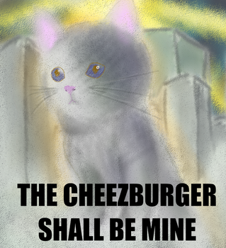 I, for one, welcome our new feline overlords by QuietCrystal