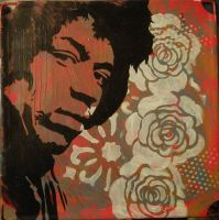 Jimi Hendrix by: ChrisEcto - Chris Ecto by ChrisEcto