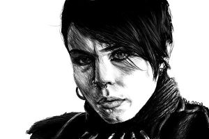 Lisbeth Salander by Shabaku