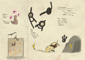 Unown doodling by umbbe