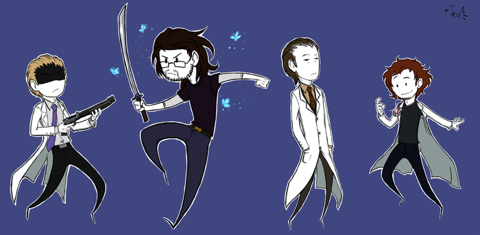SCP bros by Uncle-Nemes1s