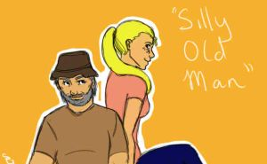 Silly Old Man by lady-alor