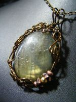 Secret garden, Labradorite by BacktoEarthCreations