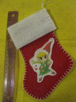 Link Christmas Stocking by Anthro7