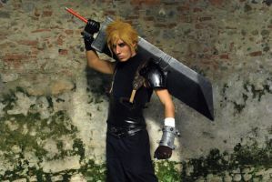 Cloud Strife Cosplay by DarthRey