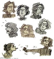 some kylo rens by Tavoriel