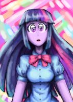 Equestra Girls - Twilight Sparkle by KazeCUL