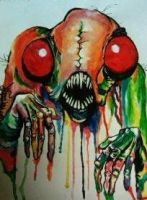 Remake of Alex Pardee by rainboww-horror