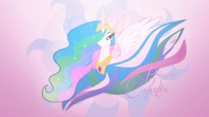 Princess Celestia (Wallpaper) by Prollgurke
