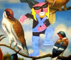 The birds and the Brak by arielsalaam
