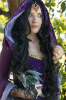 Morgana Pendragon Merlin BBC by Afemera