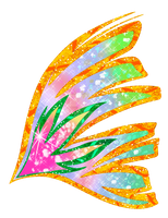 Lilly's Sirenix wing by RoseXinh
