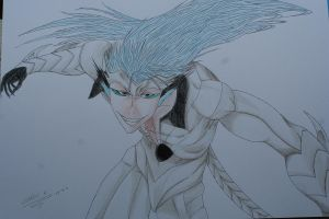 Grimmjow Jeagerjaques pantera by c3k1996