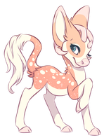 Minkin YCH for Coffee-Pony by Kamirah