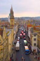 Oxford High Street - Tilt-shift by Mark-Allison