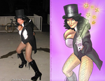 Sabrina 'Zatanna' Pandora by Ultrafem and Ulics by zenx007