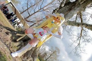 Heartcatch Pretty Super Cure Sunshine Cosplay 4 by RoseGal55