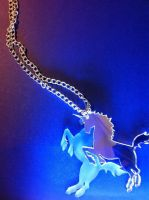 Unicorn Necklace by CMDCustom