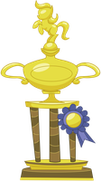 Applejack's Trophy by Vectorshy