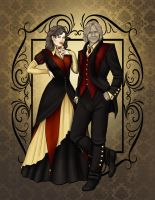 Untilted Rumbelle by CatAstropheBoxes