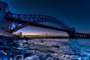 Hellgate-RFK Bridge by Tomoji-ized