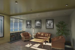 Office 01 - Seating View by Azubre
