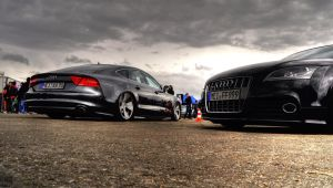 Audi A7 in Vw Day's by SnooP57