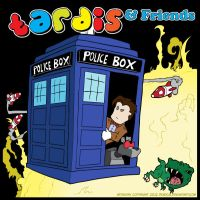 TARDIS And Friends by deadcal