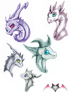 Colored Sketches by xX-Starduster-Xx