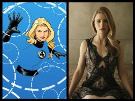 Marvel Movie Casting: Invisible Woman by Myths-of-Genesis