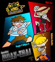 KND: Muay Thai by Porn1315