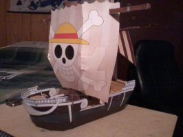 Going Merry PaperCraft by SuperVegeta71290