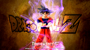 DBZ-Goku Metallic-Wallpaper by NamekianKAI