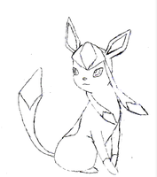 Glaceon by tiffledoodlez14