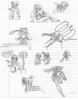 ShadowProwl doodles 1 by ShadowDemon101