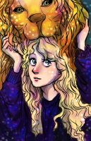 Luna Lovegood by pebbled