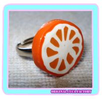 Orange ring by cuca-factory