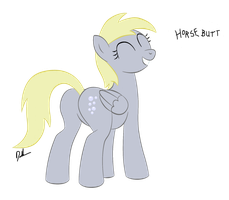 somepony's been a bad influence on derpy by shadawg