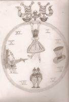 The White Rabbits Pocket Watch by A-Midnight-Oprea