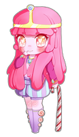 Princess Bubblegum Chibi by Bubble-Crown