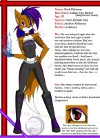 Zack's New Look and Bio by MidNight-Vixen